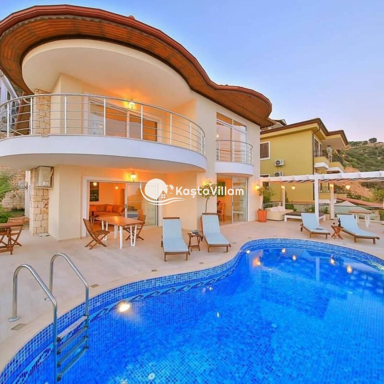 VİLLA LADY | Kaş Kiralık Villa, Kaş Yazlık Villa - Kaştavillam
