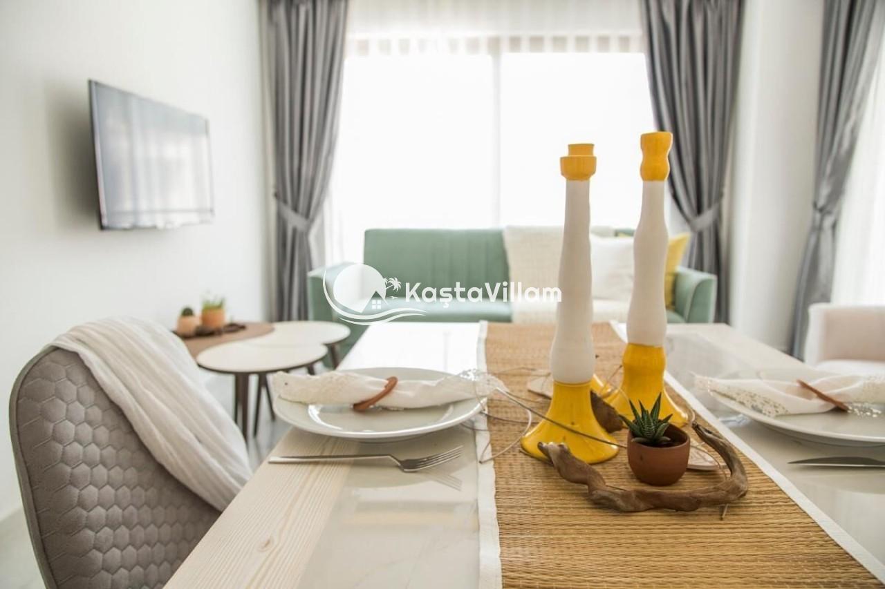 CEDRUS APART | Kaş Kiralık Villa, Kaş Yazlık Villa - Kaştavillam
