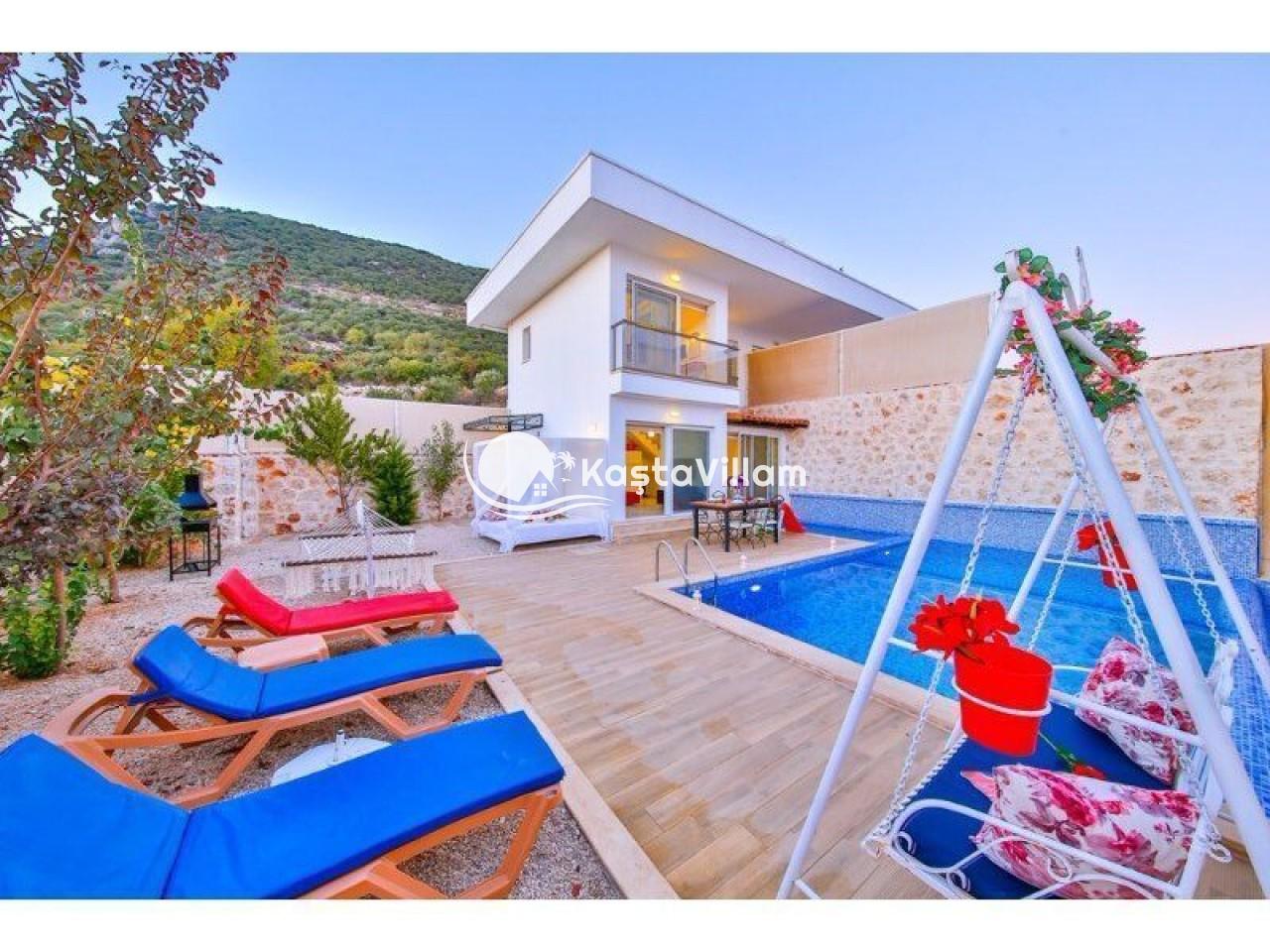 VİLLA ÖNAY 1 | Kaş Kiralık Villa, Kaş Yazlık Villa - Kaştavillam