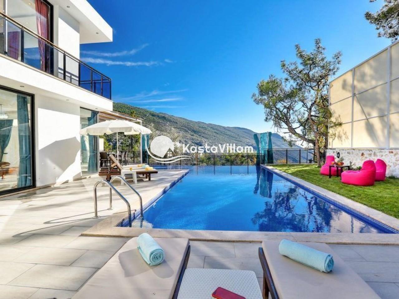 VİLLA SARI | Kaş Kiralık Villa, Kaş Yazlık Villa - Kaştavillam