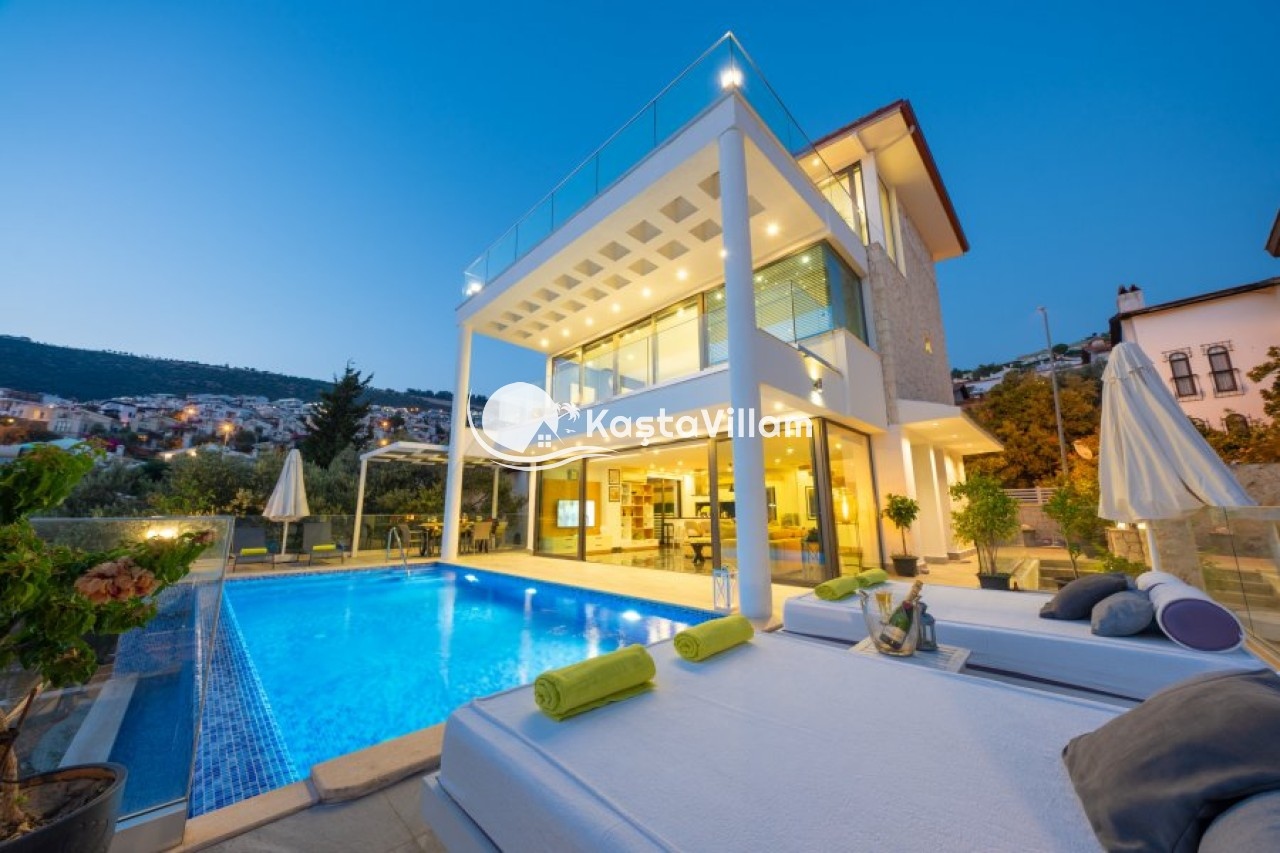VİLLA NAZ | Kaş Kiralık Villa, Kaş Yazlık Villa - Kaştavillam