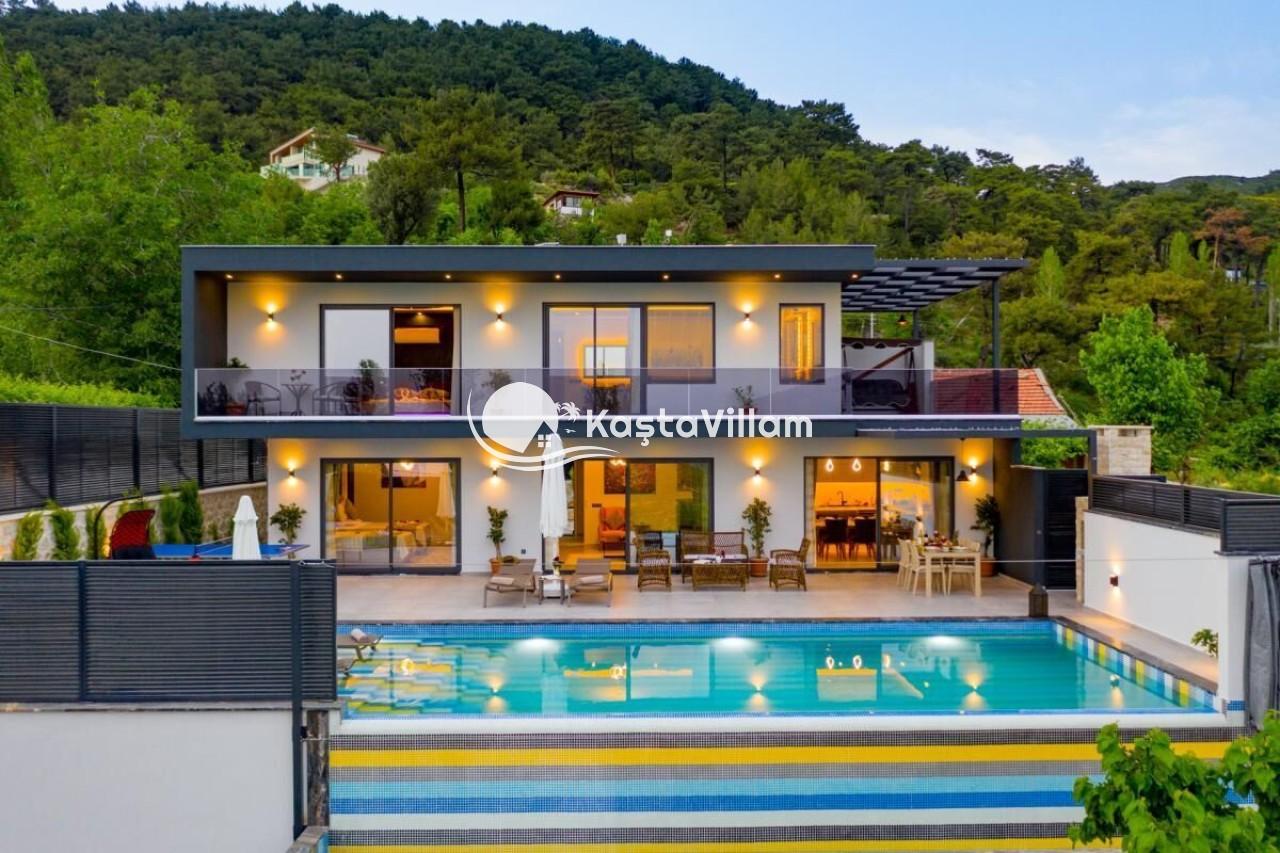 VİLLA KUZEY | Kaş Kiralık Villa, Kaş Yazlık Villa - Kaştavillam