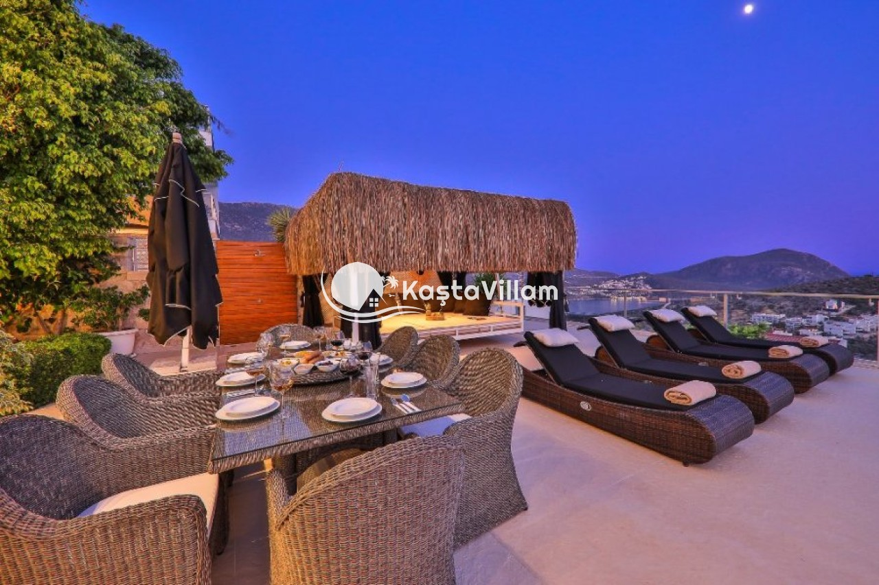 VİLLA MANİLA | Kaş Kiralık Villa, Kaş Yazlık Villa - Kaştavillam