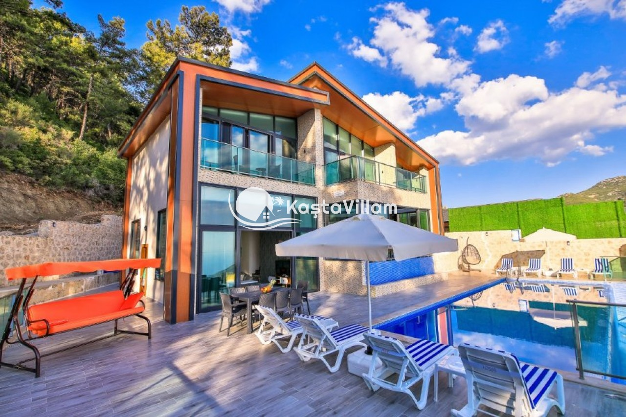 İSLAMLAR VİLLA KALİS 1| Kaş Kiralık Villa, Kaş Yazlık Villa - Kaştavillam