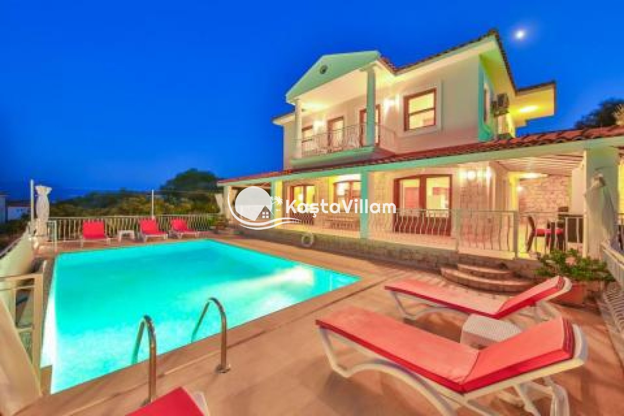 VİLLA LOTUS | Kaş Kiralık Villa, Kaş Yazlık Villa - Kaştavillam