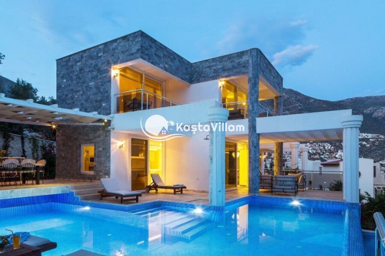 VİLLA ADA 1  | Kaş Kiralık Villa, Kaş Yazlık Vi - Kaştavillam