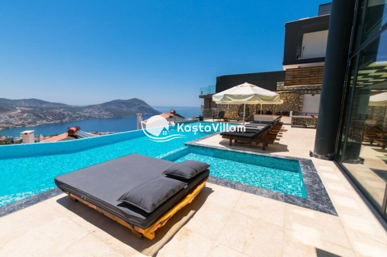 VİLLA UNLİMİTED 2 Kalkan ultra luxury rental villa - Kaştavillam