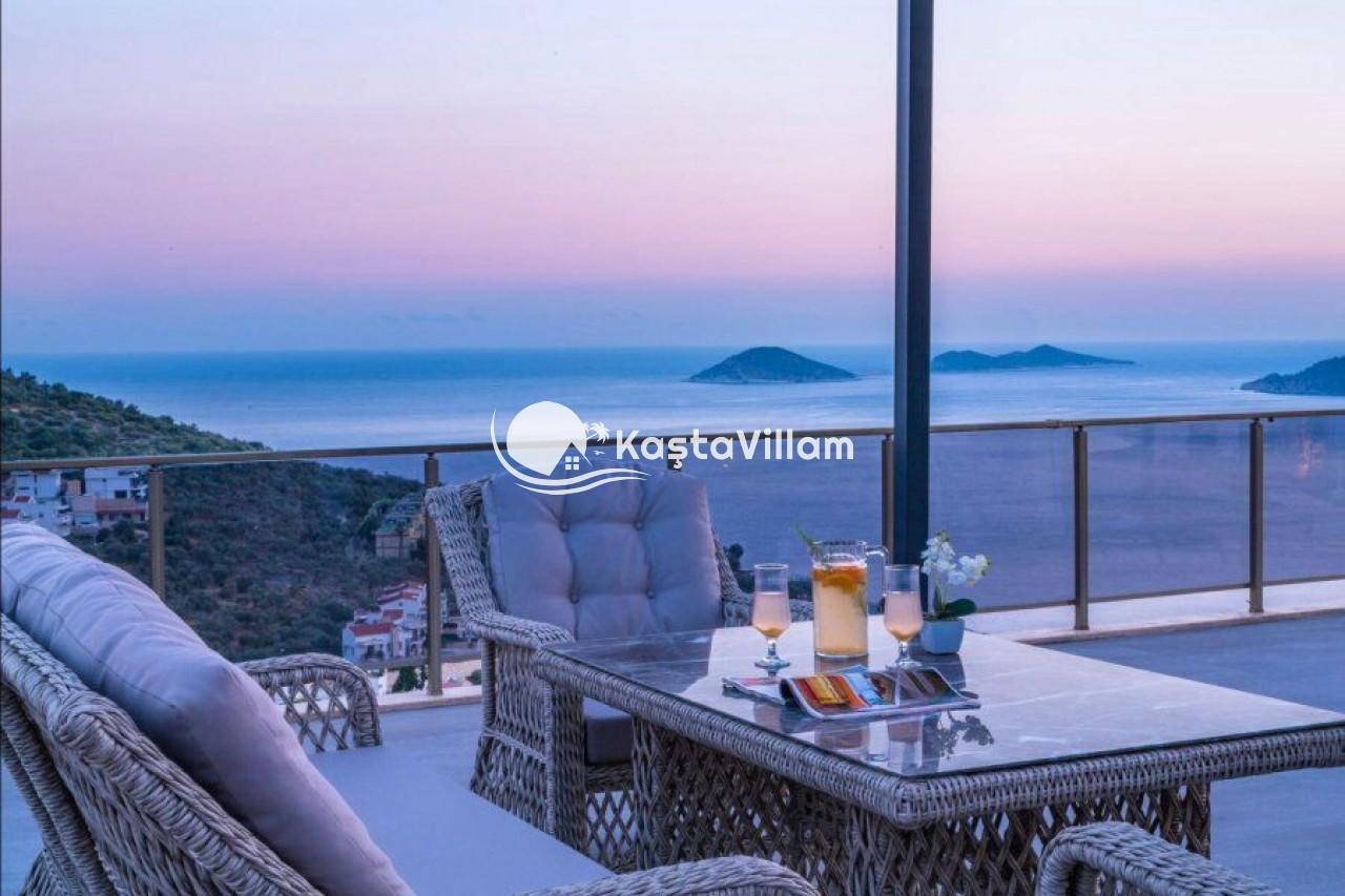 Ultra lüks villa |Kalkan kiralık villa | 10 kişilik villa - Kaştavillam