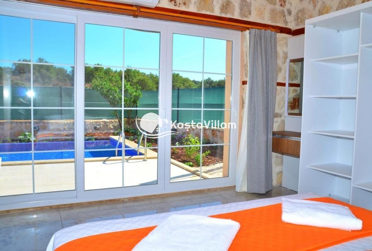 Kaş kiralık villa / Villa ecrin - Kaştavillam