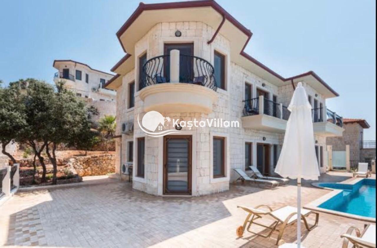 Deniz manzaralı villa / VİLLA HİLL - Kaştavillam