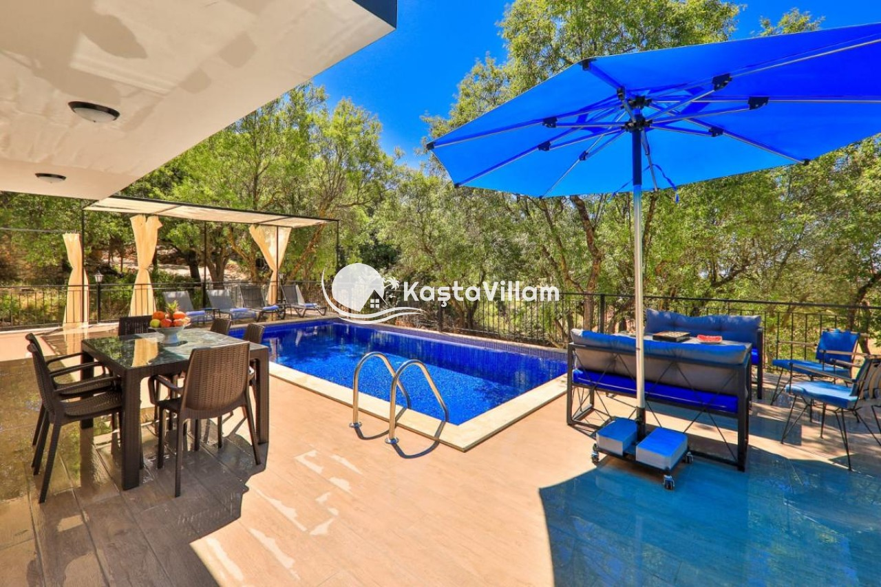 Kaş kiralık villa / Villa Kaşzade - Kaştavillam