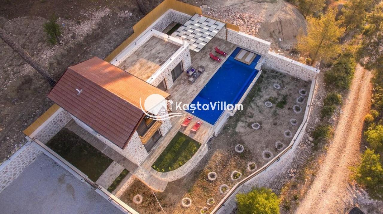 Havuzlu Tatil Villası - Kaştavillam