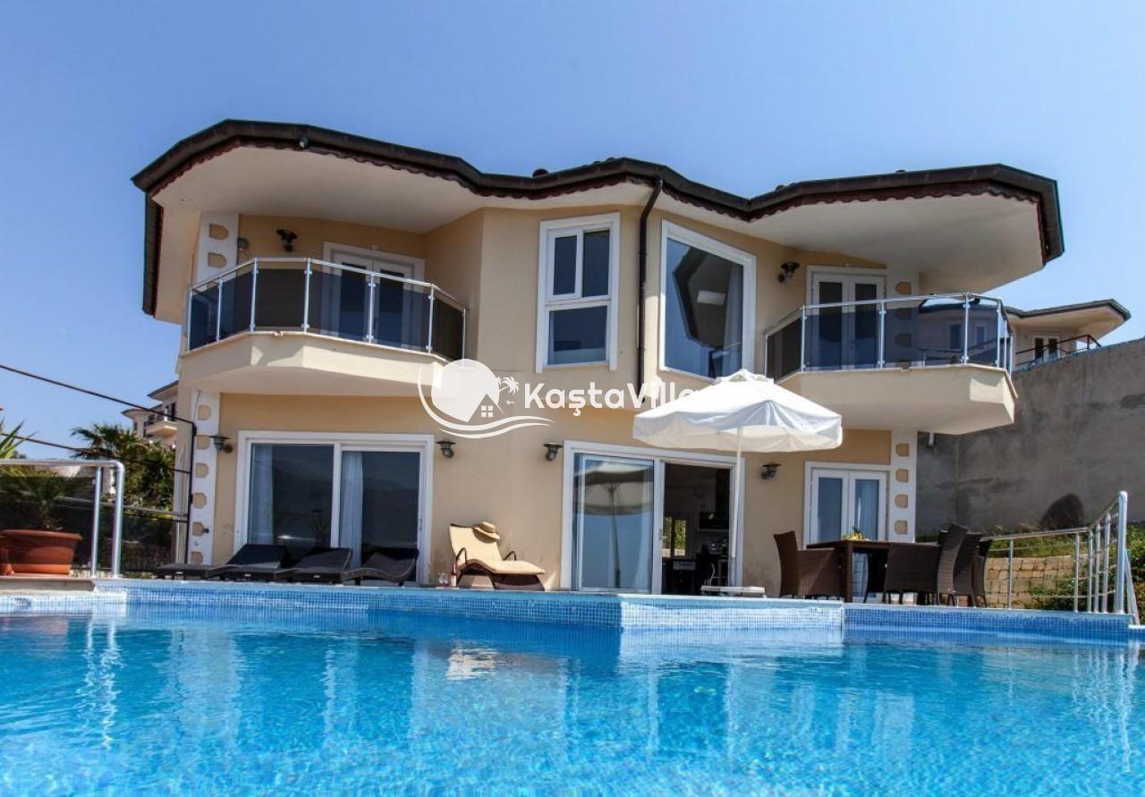 Deniz manzaralı villa / VİLLA HANS - Kaştavillam
