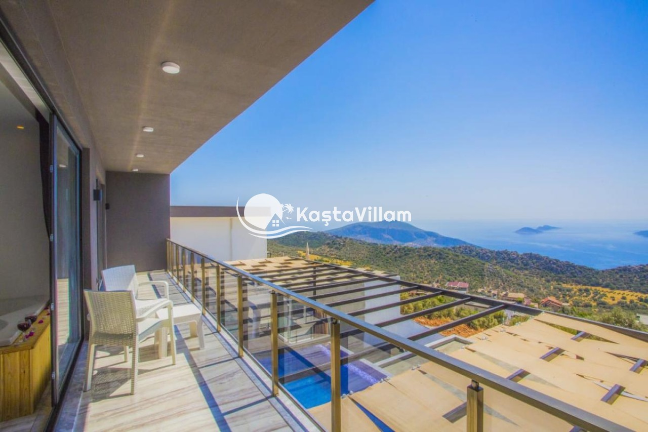 Kalkan kiralık villa / Villa Beylice - Kaştavillam