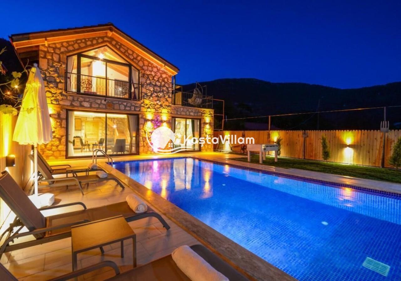 Kalkan kiralık villa / Villa Daffy - Kaştavillam