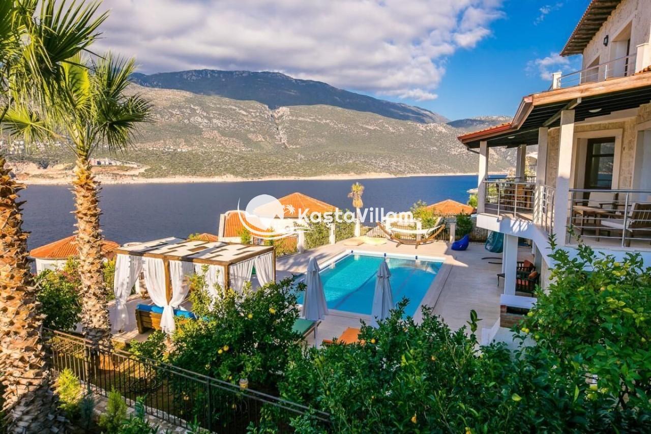 VİLLA ŞATO 2 | Kaş Kiralık Villa, Kaş Yazlık Villa - Kaştavillam
